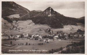 RP: Neuberg a Murz mit Rabenstein , Austria , PU-1936