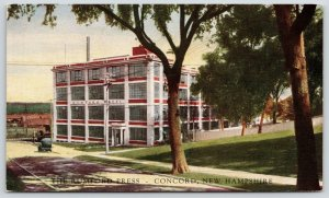 Concord New Hampshire~Rumford Press~Publisher on Ferry Street~Now Center~c1905