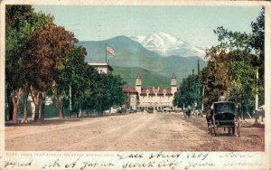 USA - Pike's Peak Avenue Colorado Springs - 03.57
