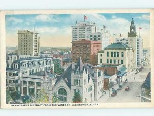 Unused W-Border STREET SCENE Jacksonville Florida FL hp2270