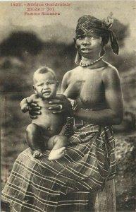 CPA AK Senegal Ethnic Nude Fortier - 1422. Etude n 101 Femme Soussou (71037)