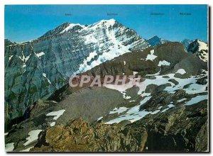 Postcard Modern Altein Balmhorn Doidenhorn