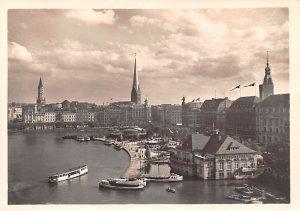 Jungfernstieg und Alsterdamm Hamburg France Unused