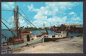 Shrimp Boat Docks,Port  Lavaca,TX