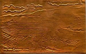 Kopper Kard - Utah, Bingham Copper Mine