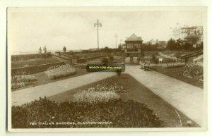 tp2725 - Italian Gardens , Clacton-on-Sea , Essex - postcard