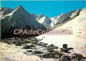 Modern Postcard Les 2 Alpes (Isere) 1650 3500 m Alt aerial view Needle Venisc...