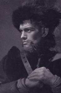 Harry Andrews As MacDuff Royal Shakespeare Theatre Postcard