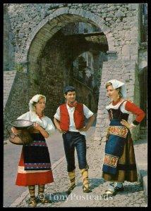 CIOCIARIA PITTORESCA - Caratteristico Costume Ciociaro