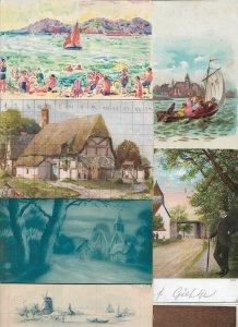 Fantasy - Landscape Postcard Lot of 18 01.07