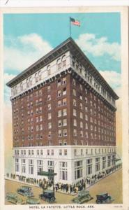 Arkansas Hot Springs Hotel Lafayette Curteich