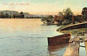 LA CROSSE WISCONSIN~FRENCH LAKE~1909 POSTCARD