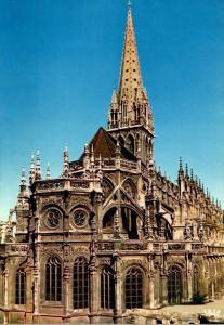 France Caen Abside de l'eglise St Pierre