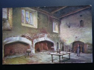 London HAMPTON COURT The Great Kitchen c1907 Postcard by Raphael Tuck 8517