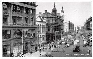 Royal Avenue Belfast Ireland 1962