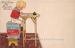 Advertising Postcard - Old Vintage Antique  Peek Frean & Co Fairy Cakes