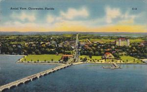 Florida Clearwater Aerial View 1943