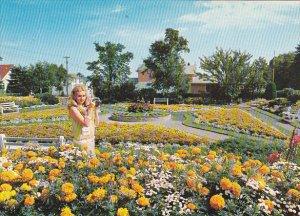 Canada Sunken Gardens Hillcrest Park Thunder Bay Ontario