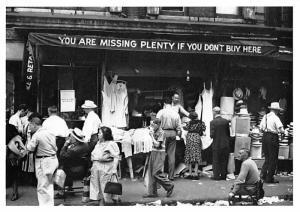 Delancey Street - New York, New York City