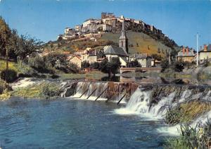 France Saint-Flour (Cantal) Vue generale bords du Lander