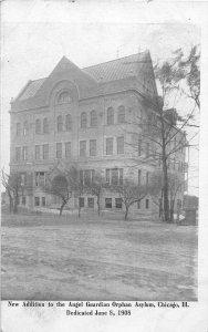H60/ Chicago Illinois Postcard c1908 Angel Guardian Orphan Asylum  85