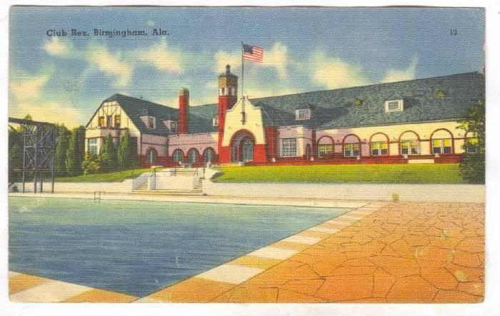 Club Rex , Birmingham , Alabama, 30-40s