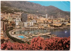 MONACO, Le Port et Monte-Carlo, used Postcard