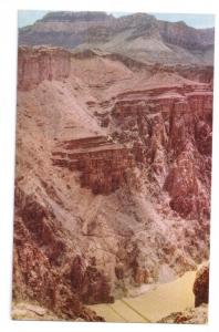 Grand Canyon Kaibab Suspension Bridge Fred Harvey Chrome