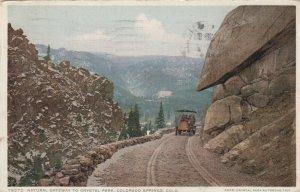 COLORADO SPRINGS , 1913 ; Gateway to Crystal Park