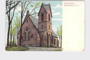 ANTIQUE POSTCARD NEW YORK MARLBORO CHRIST CHURCH UNDIVIDED BACK