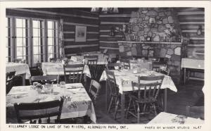 RP, Interior, Killarney Lodge On Lake Of Two Rivers, ALGONQUIN PARK, Ontario,...