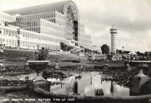 Postcard, Crystal Palace before fire of 1936, London by Judges Ltd 65Z