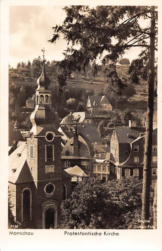 Monschau Protestantische Kirche Church Eglise