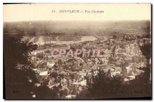 Postcard Old Honfleur Vue Generale