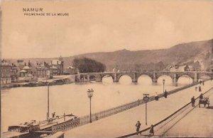 Belgium Namur Promenade De La Meuse