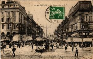 CPA Marseille - Rue Cannebiere (256054)