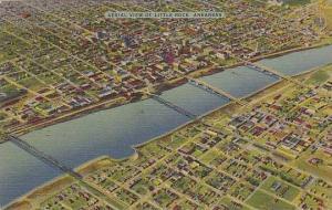 Arkansas Little Rock Aerial View