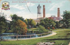 Beautiful Springfield The Waterworks Jacksonville Florida 1909