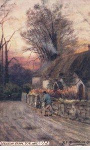 Weston Farm , TOTLAND , I.O.W. , England, UK, 1900-10s : TUCK 7101