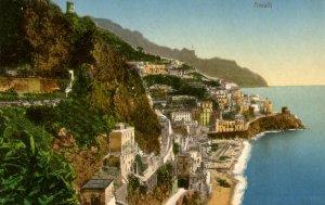 Italy - Amalfi. Bird's Eye View