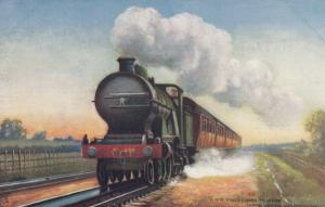 UK Railroad Train ; G.N.R. King's Cross, 00-10s ; TUCK