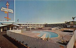 Pomona California~Pomona Motelodge on West Holt Avenue~50s Cars~Swimming Pool~Pc