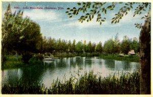 WY - Cheyenne. Lake Minnehaha