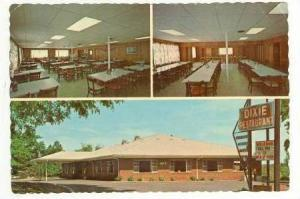 3-Views, Interior & Exterior, Dixie Restaurant, Calabash, North Carolina, 50-70