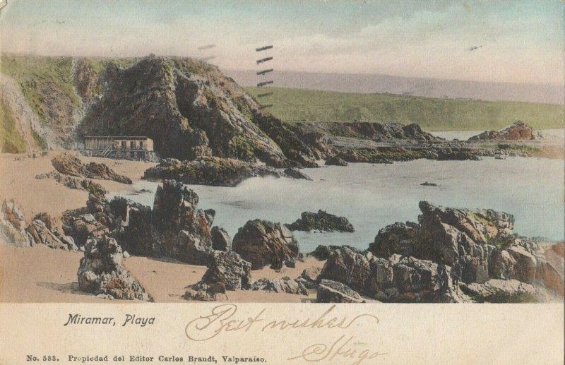 MIRAMAR , Chile , 1907 ; Playa