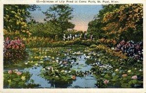 Lily Pond, Como Park in St. Paul, Minnesota