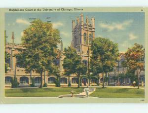 Linen HUTCHINSON COURT AT UNIVERSITY OF CHICAGO Chicago Illinois IL L7982