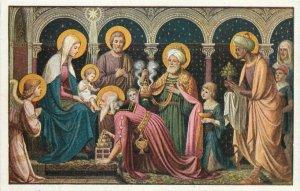 AK Fr. M. Schmalzi, C. Ss. R., Anbetung der Weisen religion art vintage postcard