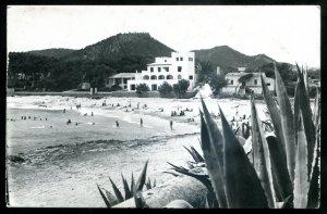 dc1983 - SPAIN Majorca 1955 Cala Ratjada. Real Photo Postcard