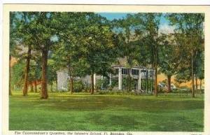 Commandant's Quarters, the Infranty School, Ft. Benning, Georgia, PU-1940
